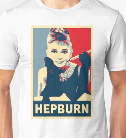 Audrey Hepburn Breakfast at Tiffany's Campaign Design  Unisex T-Shirt