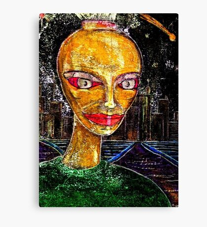 Yesterday Person Canvas Print