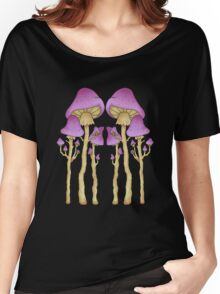 shrooms -black- Women's Relaxed Fit T-Shirt