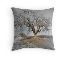 To Be Or Not To Be A Tree In Texas Throw Pillow