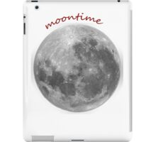 Moontime tee iPad Case/Skin