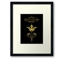 Time Lord's Diary Framed Print