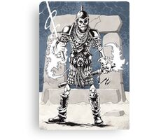 Dekkion, Dungeons & Dragons cartoon Canvas Print