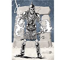 Dekkion, Dungeons & Dragons cartoon Photographic Print