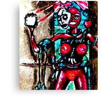 Close Toast Canvas Print