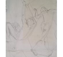 life drawing suspended 2 Photographic Print