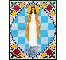 Icon of the Immaculate Conception Photographic Print