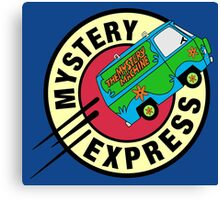 The Mystery Express Canvas Print