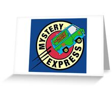 The Mystery Express Greeting Card