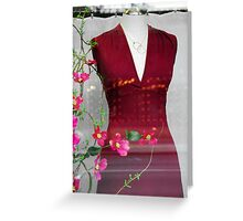 Feminine Touch Greeting Card