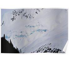 Hidden Glacier Poster