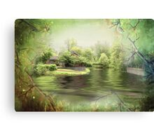 A Spring Dream - Theatre de l'Isle Canvas Print