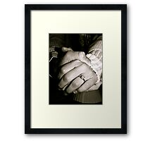 Hold on Tightly Framed Print