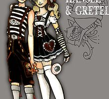 Hansel and Gretel by CattG