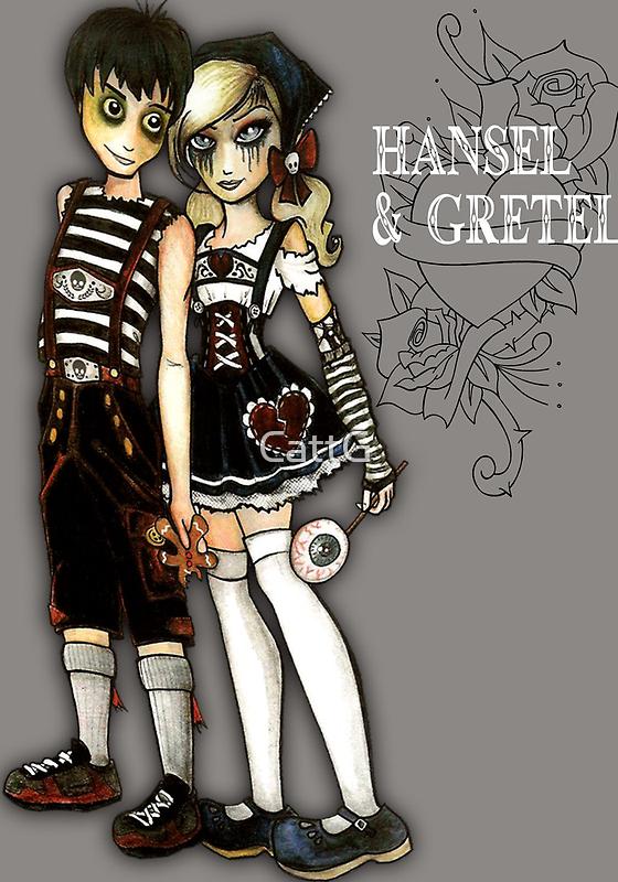 Hansel and Gretel by CattG