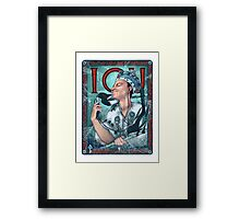 Moriarty Art Nouveau Framed Print