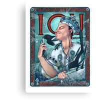 Moriarty Art Nouveau Canvas Print