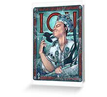 Moriarty Art Nouveau Greeting Card