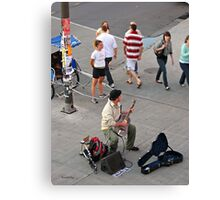 In Tune (ByWard Market) Canvas Print