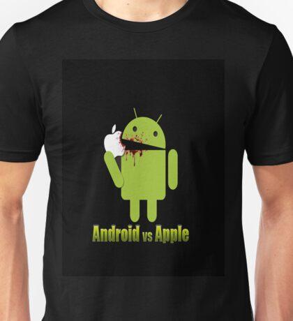 android vs apple Unisex T-Shirt