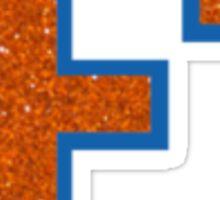 UF Glitter  Sticker
