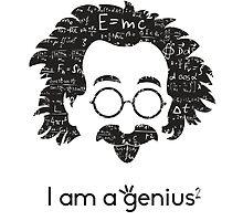 Einstein - I am a Genius by SiMinaStore