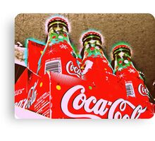 Cola Confessions Canvas Print