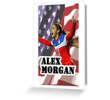 Alex Morgan iPhone Cover Greeting Card