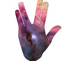 Vulcan Salute Beyond the Stars by snknjak