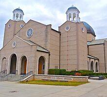 Saint George Greek Orthodox Cathedral by Gordon Taylor