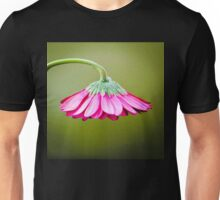 Pink/Green Flower Umbrella© (S120915pgfu) Unisex T-Shirt