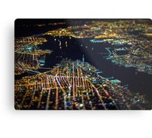 New York City At Night Pt 11 Metal Print