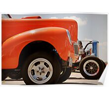 Willys and Deuce Poster