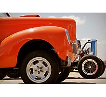 Willys and Deuce Photographic Print