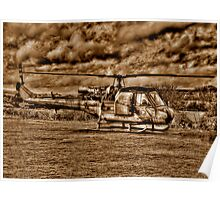 Army Chopper Poster