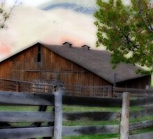Historic Cant Ranch Barn by aussiedi
