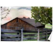 Historic Cant Ranch Barn Poster