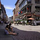The Streets of Old Montreal by Sheri Bawtinheimer