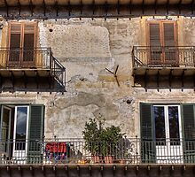 Sicilian Windows by Lynne Morris