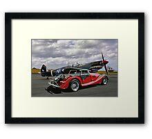Spitfire & Morgan Framed Print
