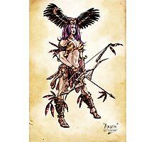 Amazon Owl-Mistress Photographic Print