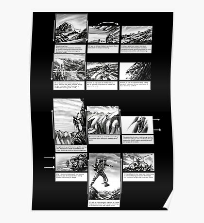 Mountain Odyssey (storyboard) Poster