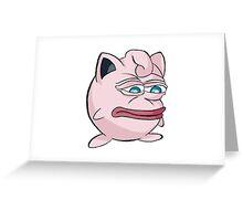 Jigglypepe Greeting Card