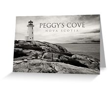 Lighthouse on Peggy's Cove Greeting Card