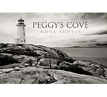 Lighthouse on Peggy's Cove Photographic Print