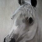 study in white by Bob  Thompson