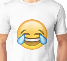 Crying with laughter emoji Unisex T-Shirt