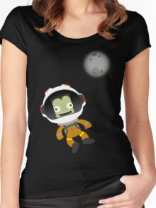 Mún or Bust! Kerbal Space Program Women's Fitted Scoop T-Shirt