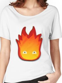 Calcifer! Howls moving castle. Women's Relaxed Fit T-Shirt