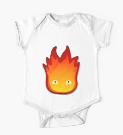 Calcifer! Howls moving castle. One Piece - Short Sleeve